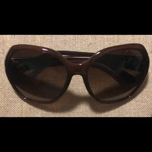 PRADA Sunglasses Brown SPR14N 60-17 4AN-6S1 130 3N
